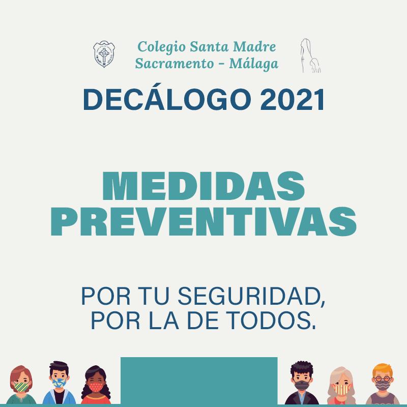 Decálogo medidas preventivas 21-22