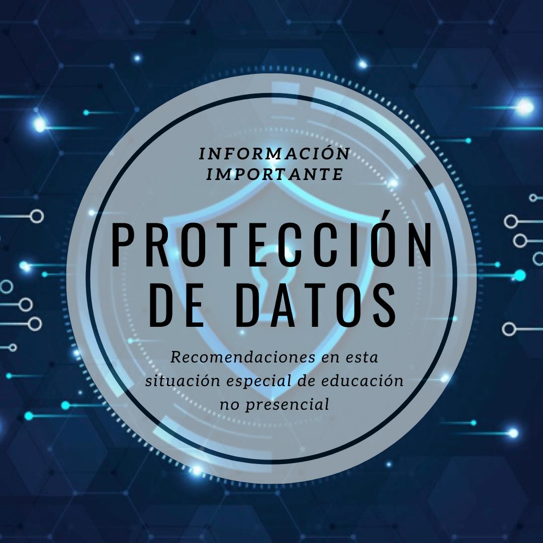 Información sobre protección de datos